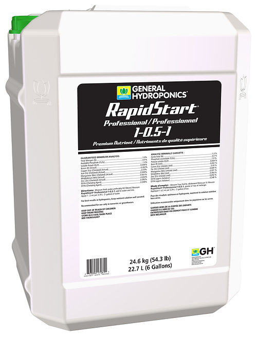 GH Rapid Start Pro 6 Gallon