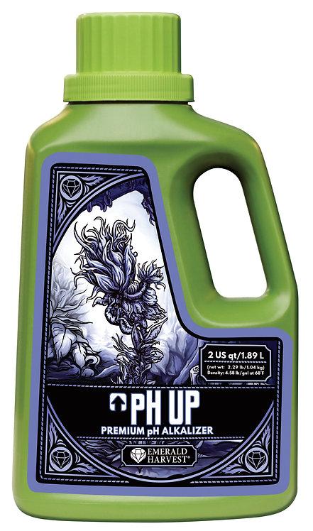 Emerald Harvest pH Up 2 Quart/1.89 Liter (6/Cs)