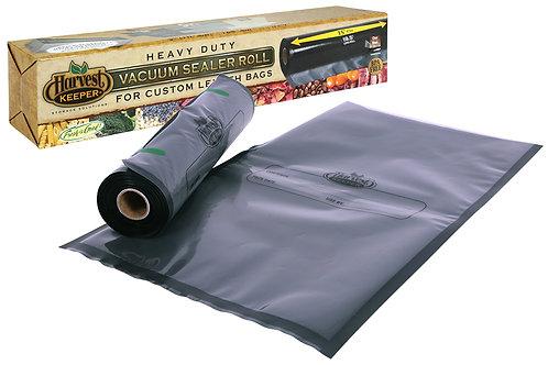 Harvest Keeper Black / Clear Precut Bags 11 in x 18 in (50/Pack) (16/Cs)