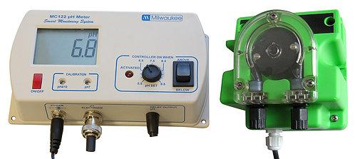 Milwaukee Instruments pH Controller with Dosing Pump Kit Model MC720