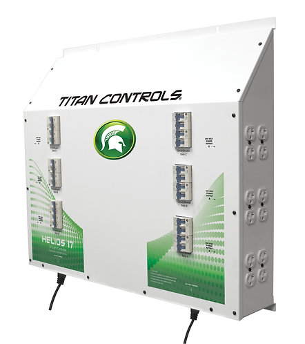 Titan Controls® Helios® 17 - 24 Light 240 V Controller with Dual Trigger Cords