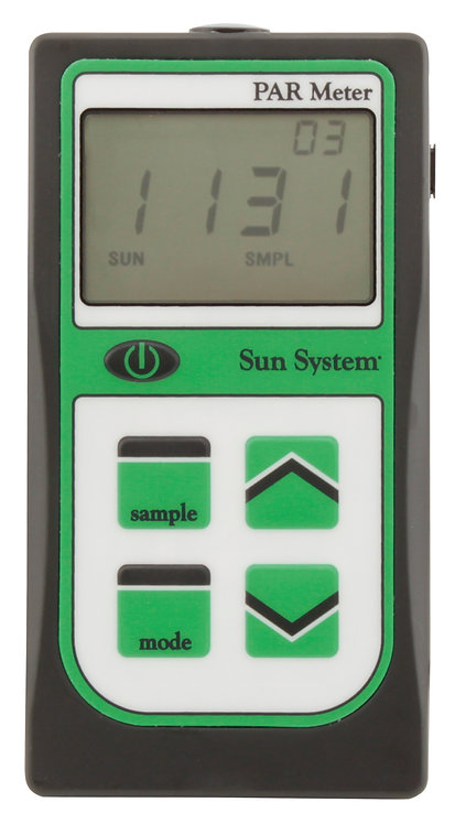 Sun System® PAR Meter with Integrated Sensor