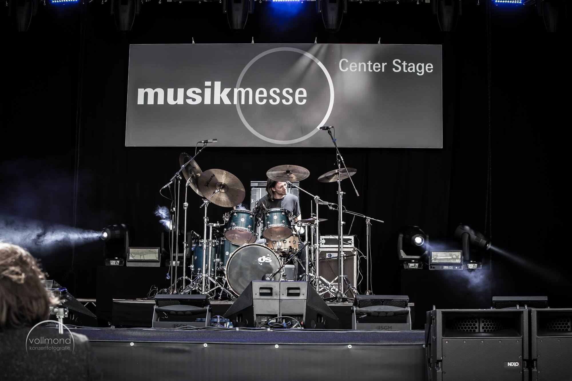 gig at MusikMesse2016 Centerstage