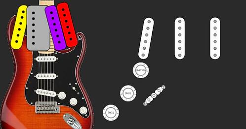 Stratocaster SSS White