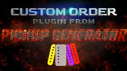Custom made Pickup Generator plugin