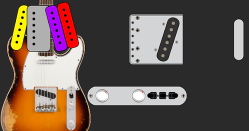 Telecaster (FREE) our gift so you can try Pickup Generator FOR FREE