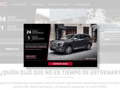 海外導入事例:GMC 自動車業界 WEB接客事例