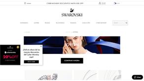 海外導入事例:Swarovski Argentina and Swarovski Chile WEB接客 事例