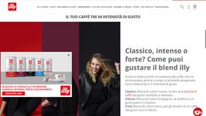 海外事例:イタリアの老舗エスプレッソブランドilly(イリ―)様 WEB接客事例