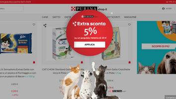 海外導入事例:Nestlé - Purina (pet food) WEB接客事例