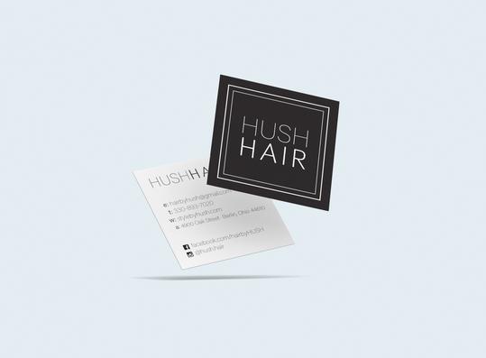 Business Cards - Hush Hair