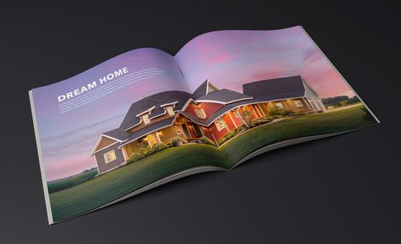 Building Dreams Booklet - Inside Spread - Oakbridge Timber Framing