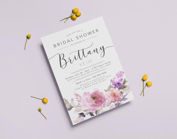 Bridal Shower Invitation - Brittany Keim
