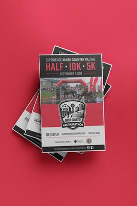 Race Flyers - Amish Country Half Marathon