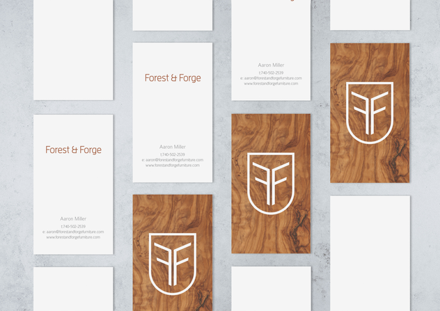 Business Cards - Forest & Forge Furniture