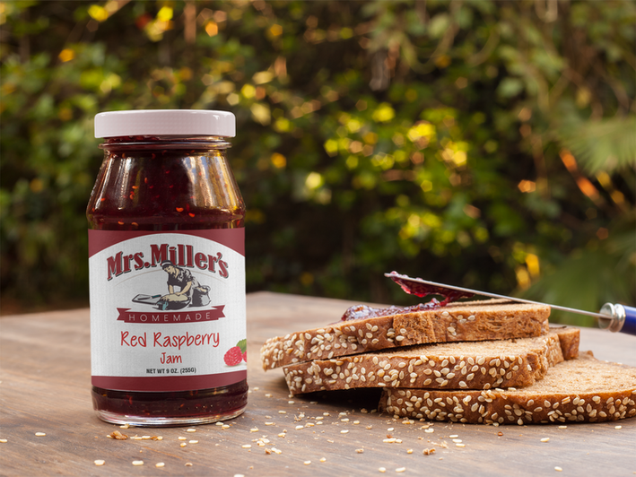Jam Labels - Mrs. Miller's Jams & Jellies