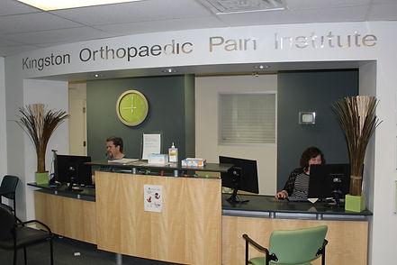 Kingston Orthopaedic Pain Institute Reception