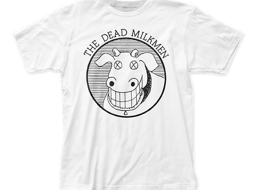 "Dead Milkmen ""Cow Logo"" shirt"