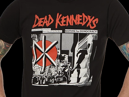 """Dead Kennedys """"Bedtime for Democracy"""" T-Shirt"""