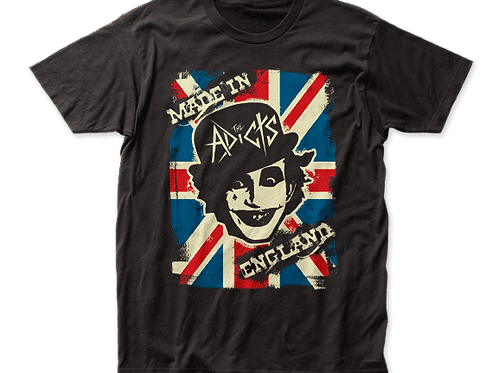 """The Addicts """"Made in England"""" shirt"""