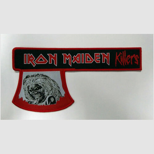 """Iron Maiden """"Killers axe"""" patch"""