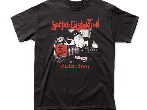 Social Distortion - Mainliner t-shirt