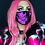 Thumbnail: Skull Death Pink Face Mask