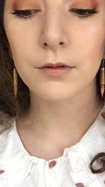 Alexandra and her bullet earrings (9/21/20)