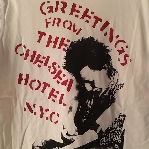 Greetings from the Hotel Chelsea shirt by Vive 1977