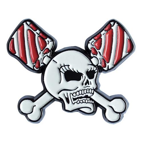 Horrorpops Skull Lollipops Enamel Pin