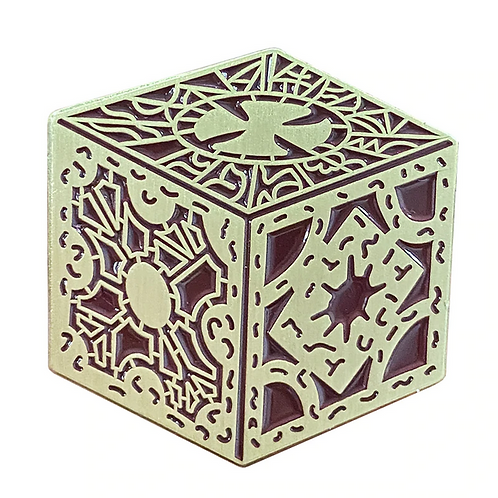 Hellraiser Puzzle Box pin