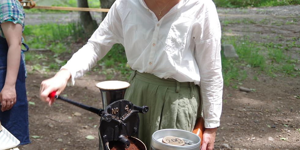 森カフェ&北清の森で遊ぼう!