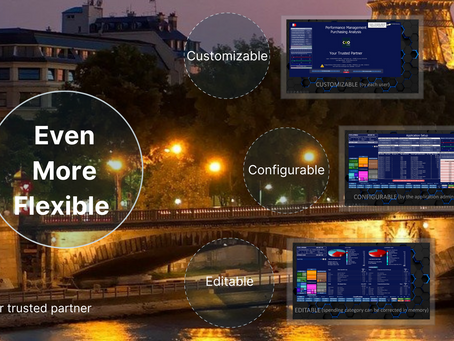 Why choose our CxO spends 5.0 solution?