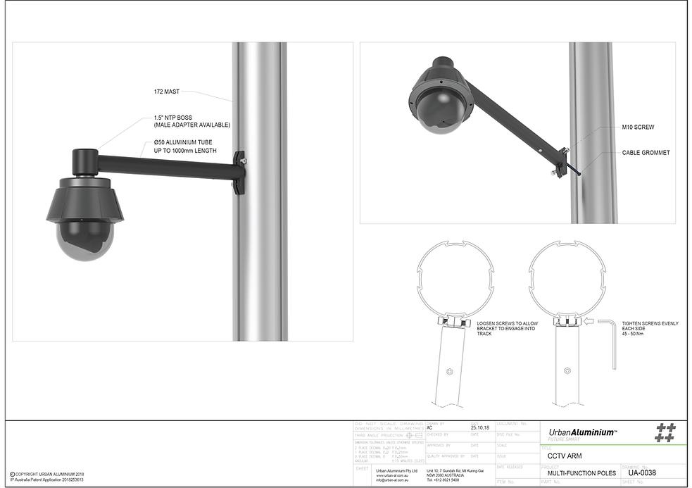 5. UA CCTV Arm Multi Function Pole.png