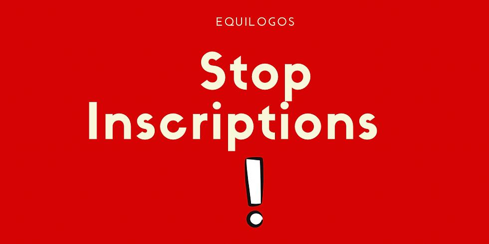 Stop inscriptions