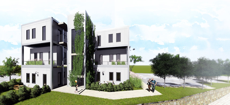 Concurso Agisa-Todeschini: Imagem externa do edifício.