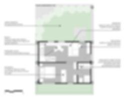 Concurso Agisa-Todeschini: Planta do apartamento tipo