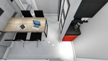 Imagem computadorizada do projeto