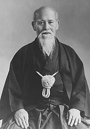 Morihei_Ueshiba   Aikido Club Valais