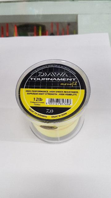 Monofilo Tournament Giallo diam. 0,31