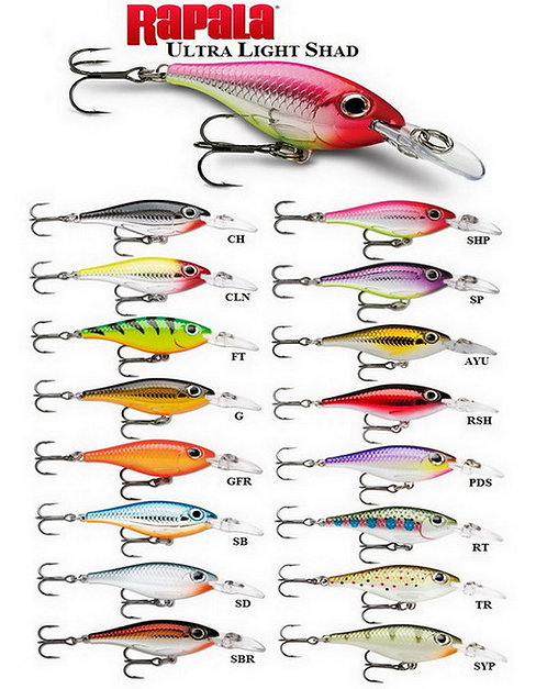 Rapala Ultra Light Shad ULS-4 (4cm)