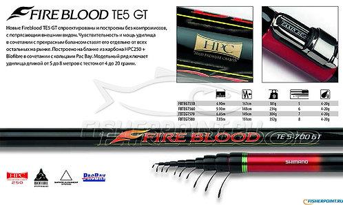 Shimano Fire Blood TE 5 GT - MT. 7