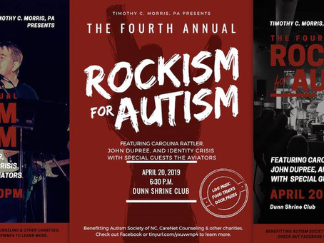 Rockism for Autism 2019