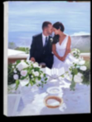 live wedding artist