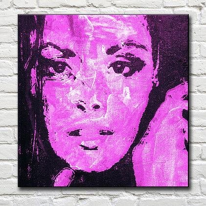 Fresco Custom Portrait: Purple Palette form $490