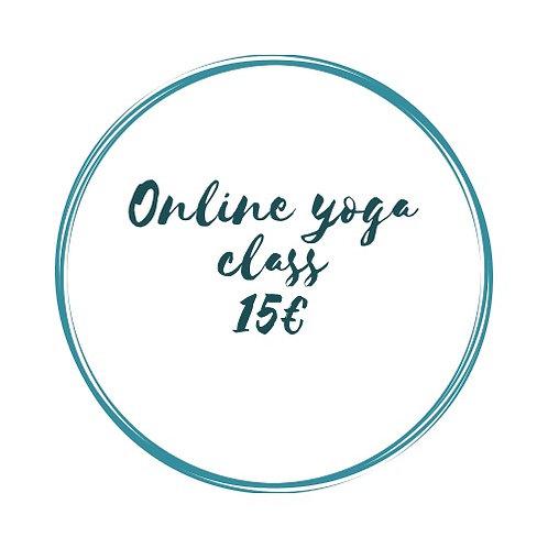 Online class / Pranama Support