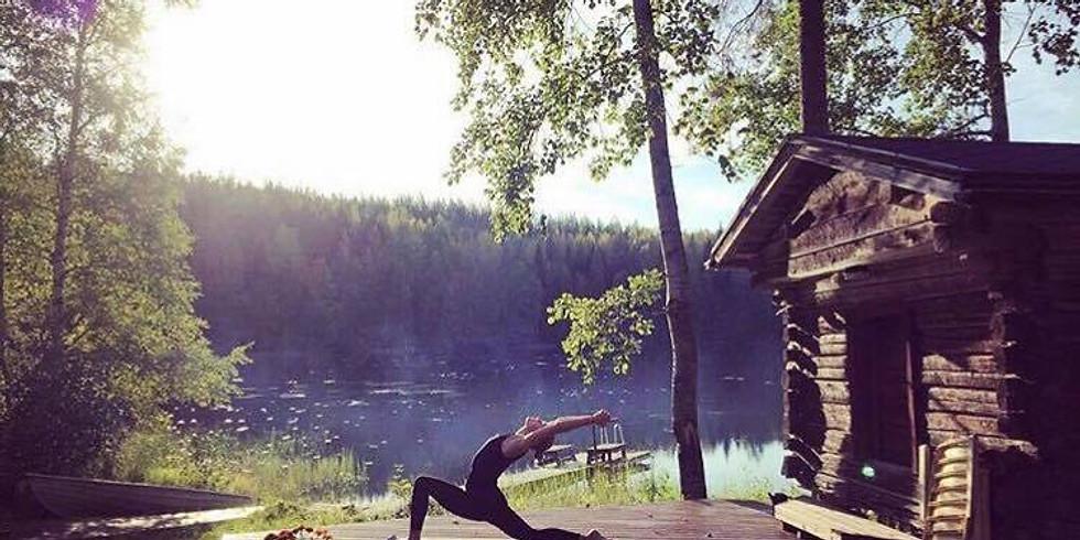 SUMMER SOLSTICE ° SUMMER KICKSTART ° Katonah yoga class in English - live & via zoom