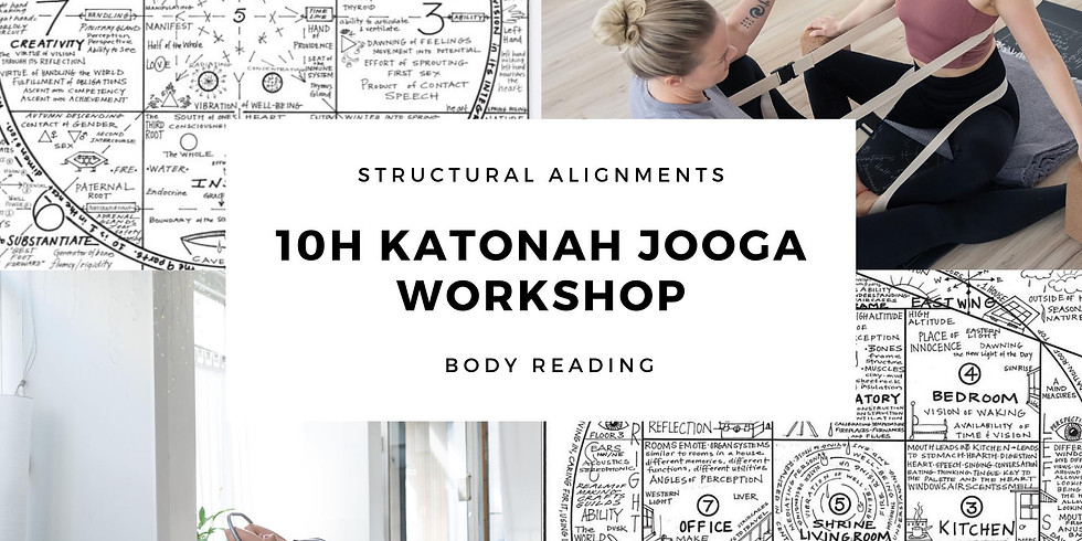 Body reading and structural alignment ° 10h Katonah jooga workshop