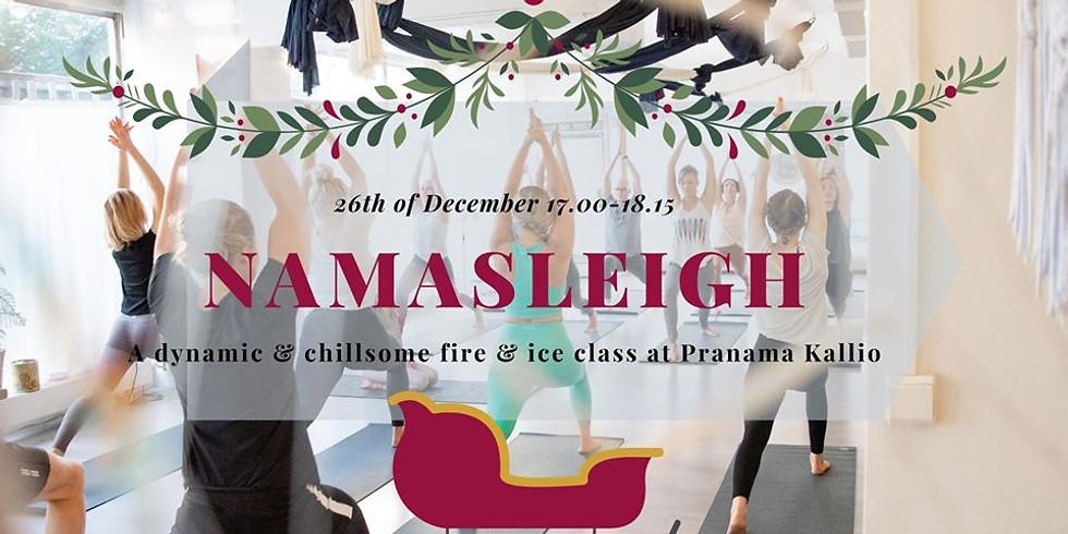 Namasleigh - Christmas Yoga //TUNTI PERUTTU