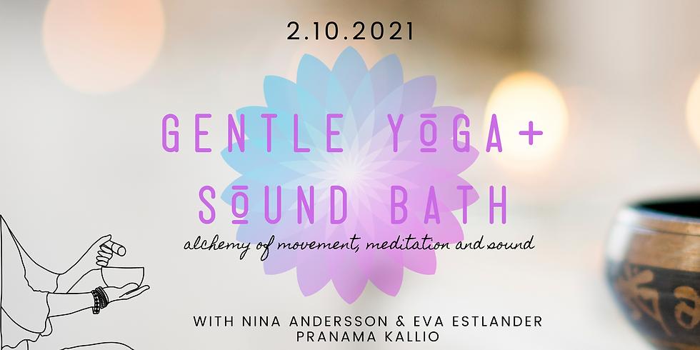 Gentle Yoga + Sound Bath